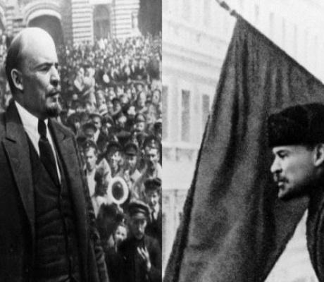 Και να στο βήμα ανεβαίνει ο Λένιν…