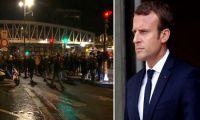 Γαλλία: Οργή κατά Μακρόν έξω από θέατρο