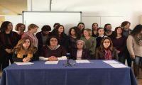 Μήνυμα ειρήνης και επανένωσης στους δύο ηγέτες από γυναικείες οργανώσεις