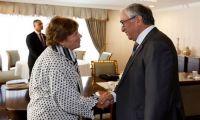"""Κυπριακό: Συνεχίζει και αύριο το """"πήγαινε - έλα"""" η Τζέιν Χολ Λουτ..."""